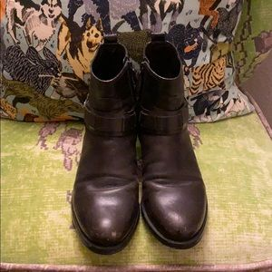 Tory Burch dark chocolate brown booties 7